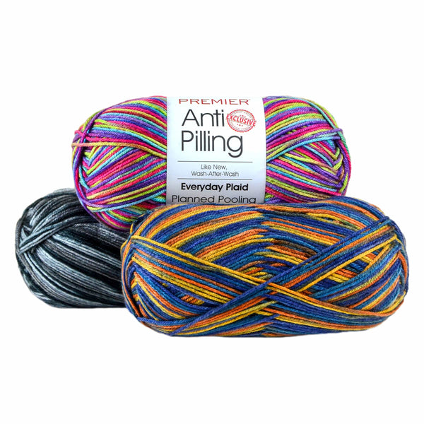 Premier Anti-Pilling Everyday® Worsted Plaid Yarn - 200g