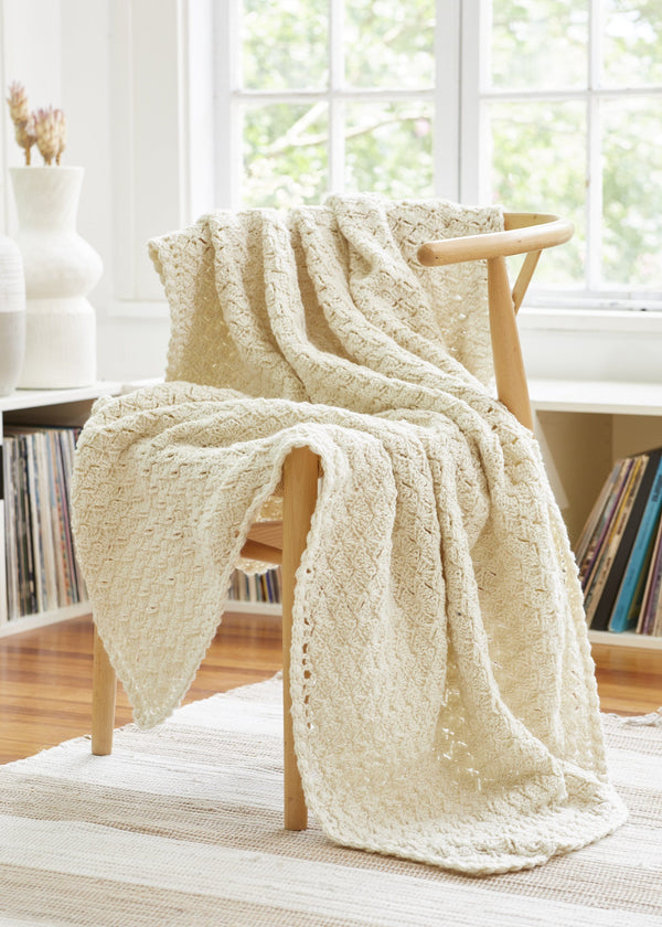 Cream Puff Throw