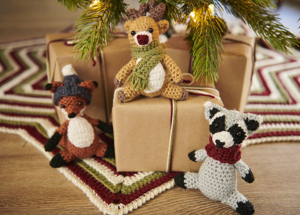 Woodland Winter Ornaments