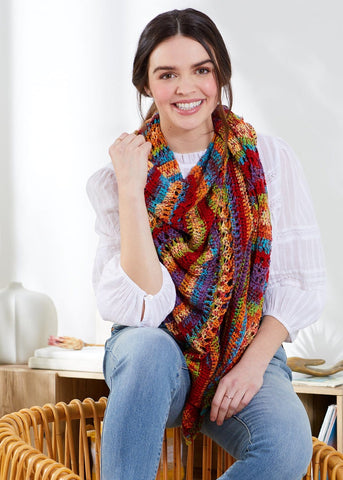Premier® Swirling Pebbles Hat and Cowl
