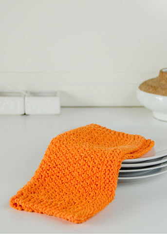 Carrot Cake Dishcloth