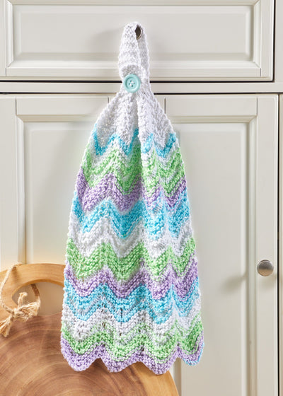 Chevron Stripe Kitchen Towel