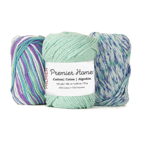 Premier Home® Cotton Solids and Multis Yarn - Small