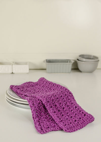 Passion Fruit Dishcloth