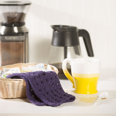 Plum Sauce Dishcloth