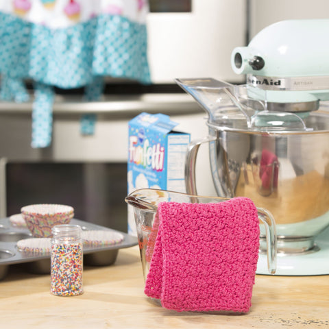 Strawberry Shortcake Dishcloth