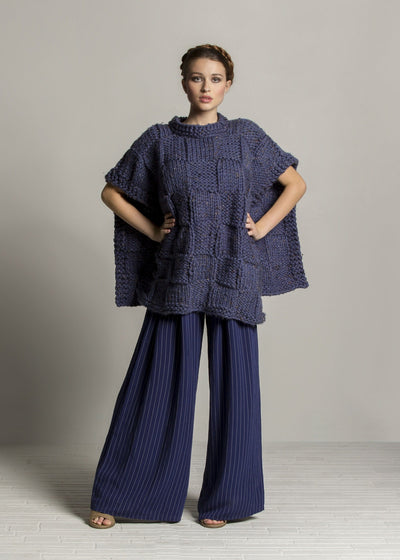 Soft Blocks Poncho