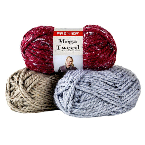 Premier Mega Tweed® Yarn