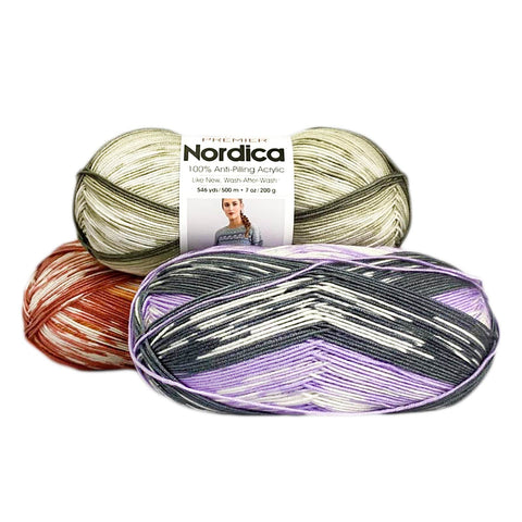 Premier® Anti-Pilling Nordica Self-Patterning Yarn