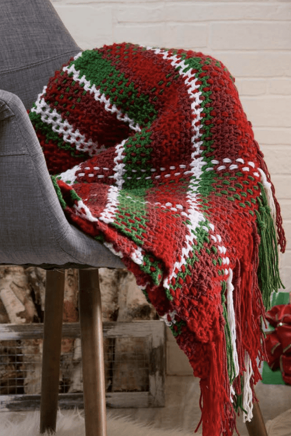 Premier® Woven Plaid Throw