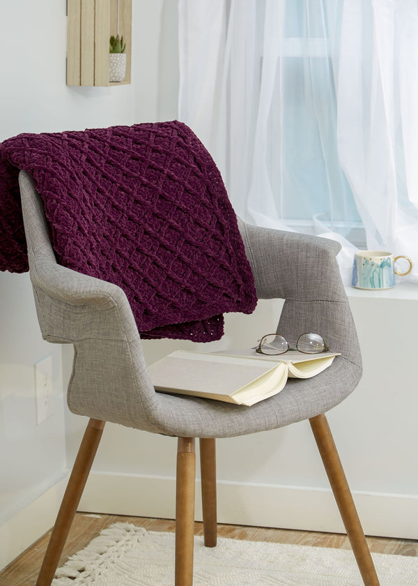 Verona Crochet Throw