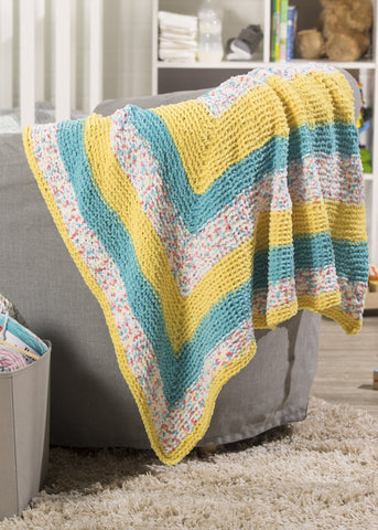 Mitered Square Blanket
