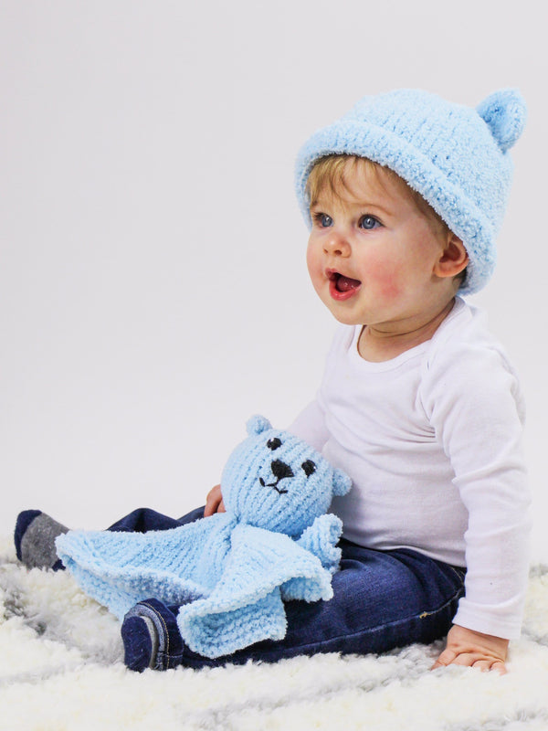 Little Bear Hat and Lovey
