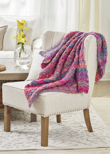 Colorful Cluster Throw