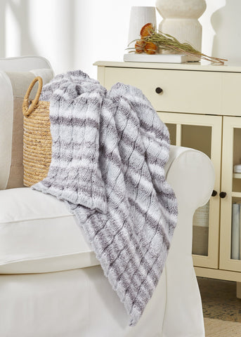 Easy Knit Blanket