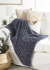 Retro Knit Throw