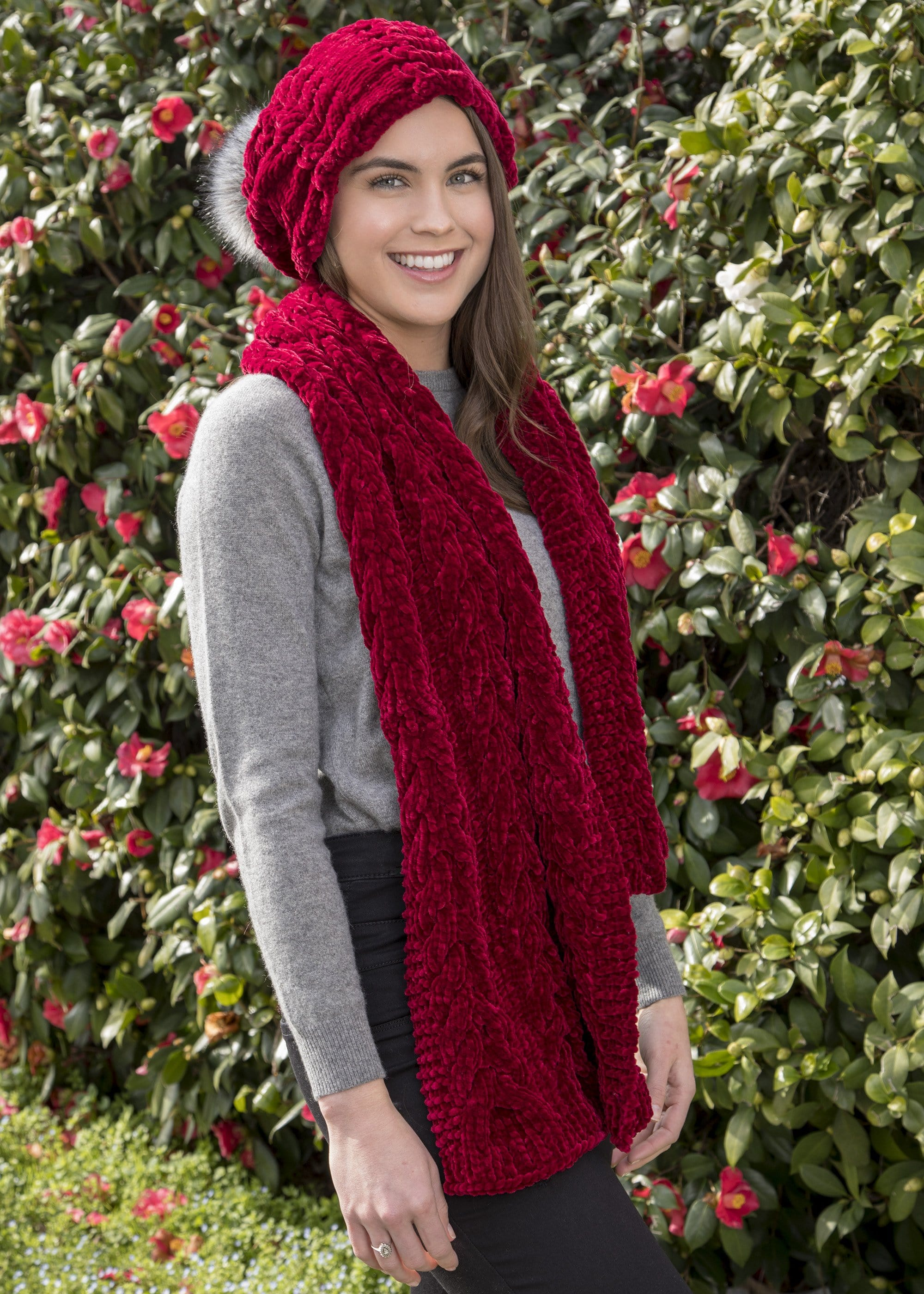 Winterberry Scarf Premier Yarns