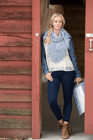 Premier® Boho Mesh Stole Free Download