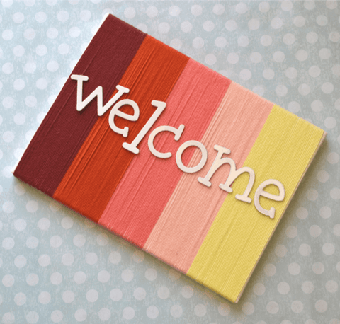 Premier® Welcome Sign