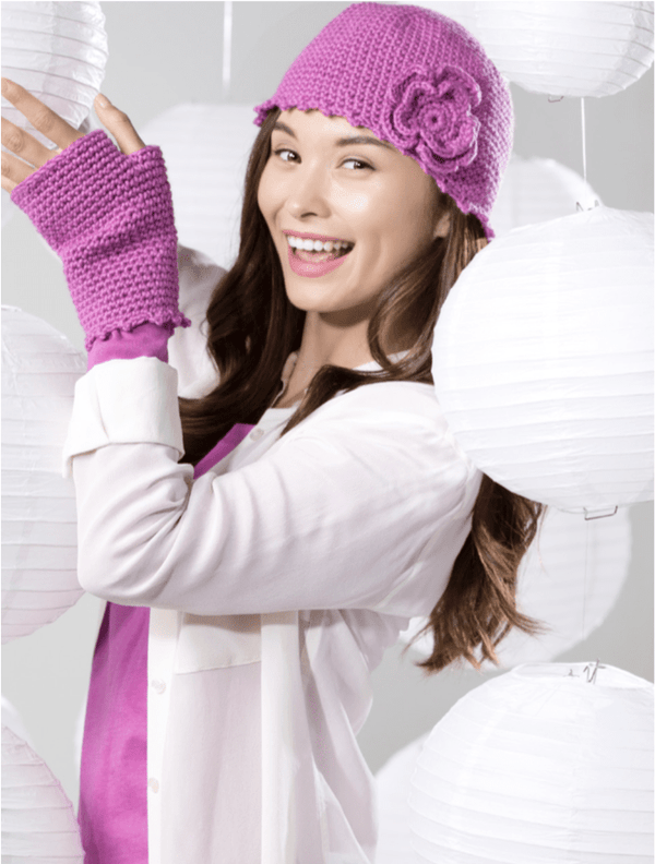 Premier® Blooming Hat & Mitts