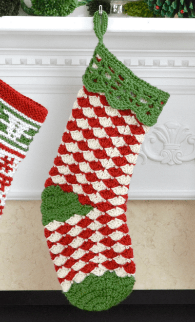 Premier® Christmas Shells Stocking