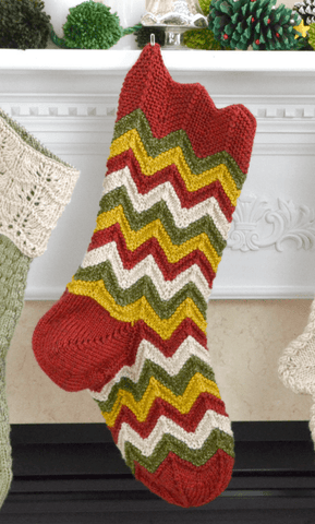 Premier® Christmas Flowers Stocking