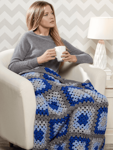Premier® Granny Blues Throw