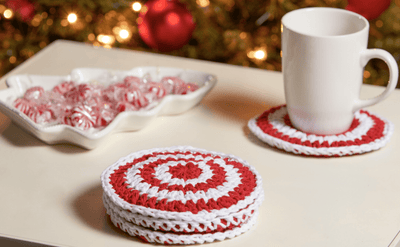 Premier® Peppermint Coasters