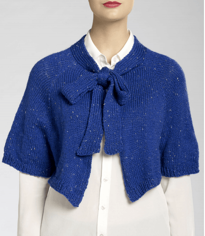 Isaac Mizrahi® Craft™ Broadway Knit Capelet