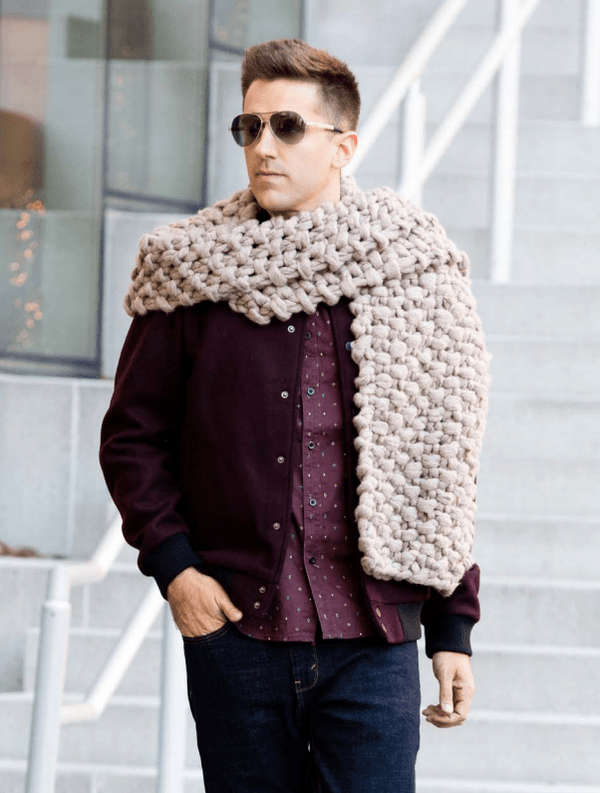 Premier® Couture Jazz Jumbo Knit Scarf