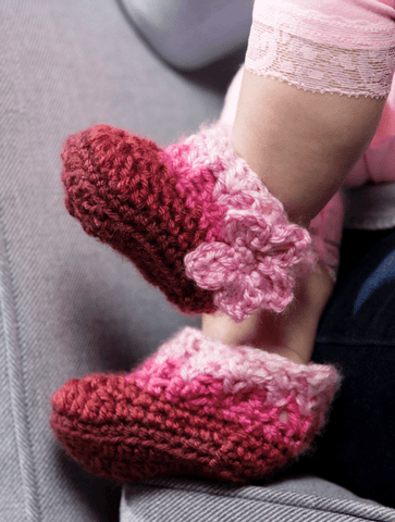Premier® Pretty in Pink Booties