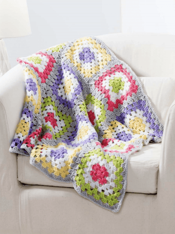 Premier Everyday® Baby Granny's Rainbow Blanket