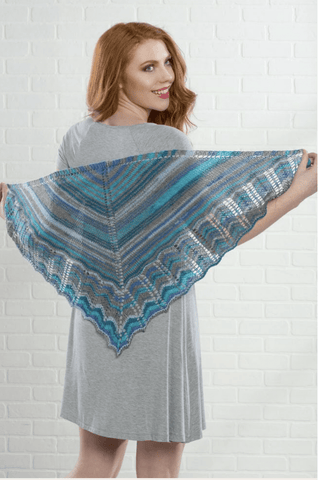 Premier® Simply Stripey Shawl