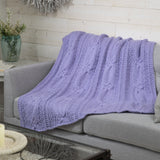 Cabled Knot Throw