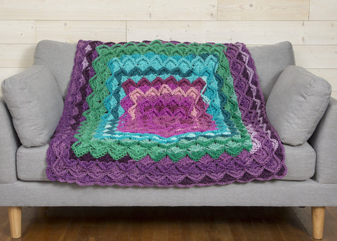 Tumbling Blocks Blanket