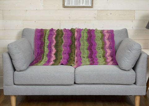 Log Cabin Throw