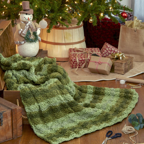 Woodland Blanket - Holiday