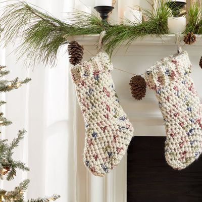 Fireside Crochet Stocking