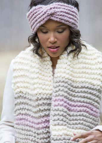 Honeycomb Knit Cowl