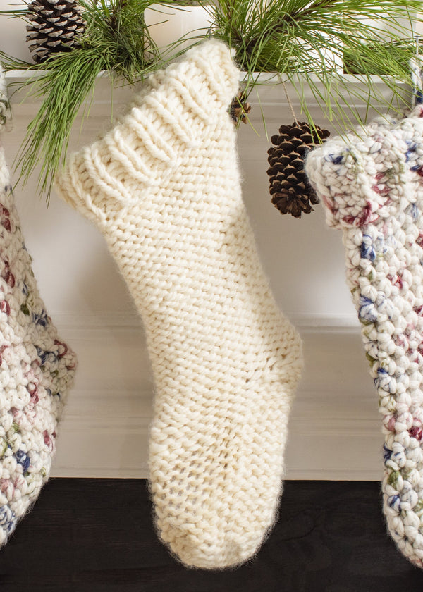 Snowfall Stocking