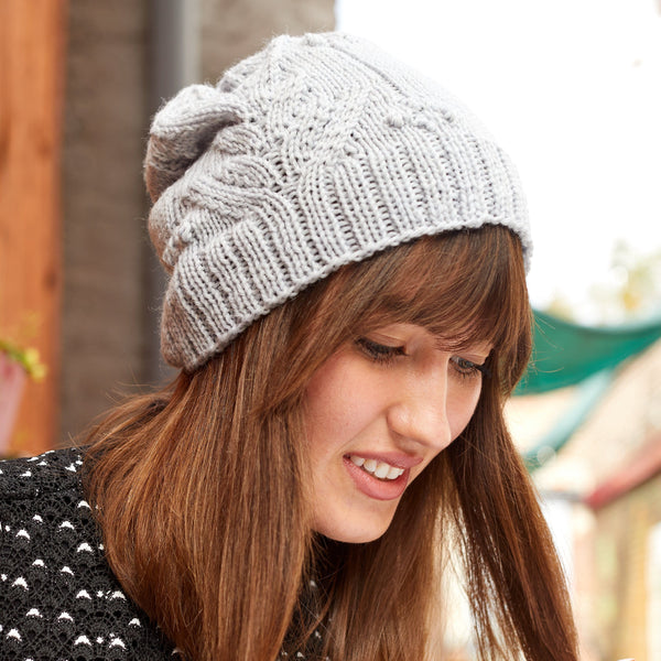 Bobbles and Lace Hat