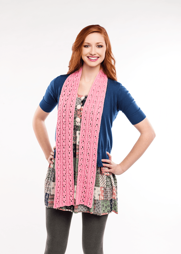 Sweet Pea Lace Scarf
