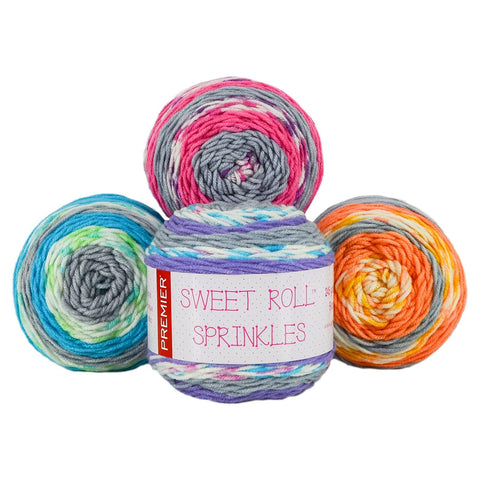 Premier Sweet Roll® Sprinkles Yarn