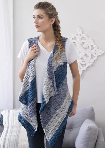 Bias Mesh Stripe Wrap