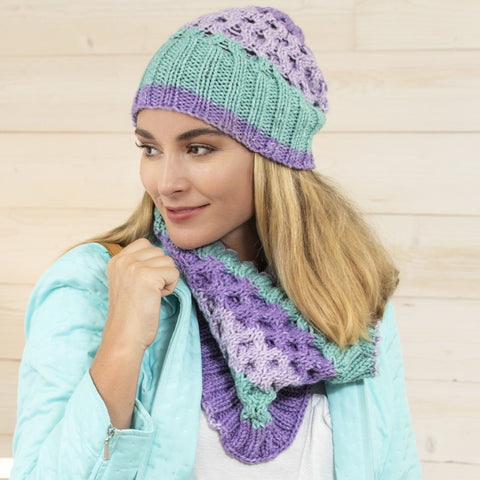 Premier® Shoulder Shawlette Knit Pattern Free Download