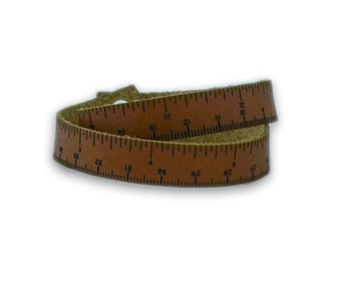 Premier® Leather Ruler Bracelet