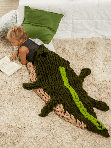 Premier® Arm Knit Alligator Sleep Sack