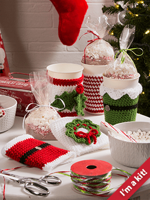 Holiday Cup Cozies Kit