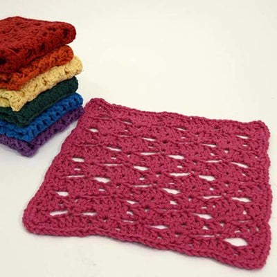 Premier® Rainbow of Washcloths - Pink Free Download