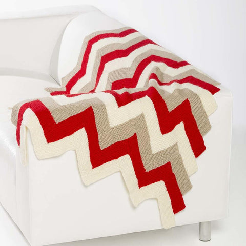 Chevron Stripe Throw